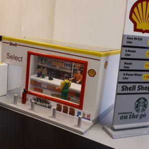 Shell tankstation en Carwash G