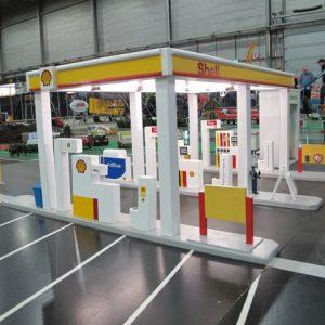 Shell tankstation en Carwash H