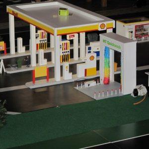 Shell tankstation en Carwash I
