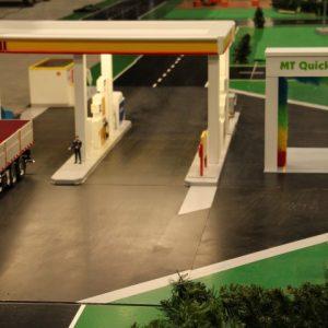 Shell tankstation en Carwash K